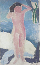 Nude by the Sea Cavaliere 1909 - Henri Matisse