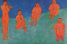 La Musique 1910 - Henri Matisse
