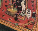 Still Life in Venetian Red 1908 - Henri Matisse