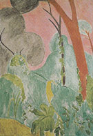 Morroccan Garden Periwinkles 1912 - Henri Matisse
