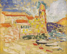 View of Collioure The Bell Tower 1905 - Henri Matisse