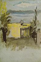 The Door to Signacs Studio St Tropez 1904 - Henri Matisse