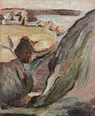 Rocks at Belle Ile 1896 - Henri Matisse
