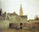 Village in Brittany 1896 - Henri Matisse