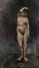 Le Modele The Model c1898 - Henri Matisse