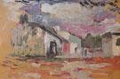 Landscape at Arcueil c1898 - Henri Matisse
