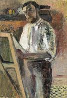 Self Portrait at the Easel 1900 - Henri Matisse