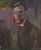 Self Portrait 1900 - Henri Matisse