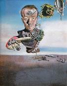 Portrait of Paul Eluard 1929 - Salvador Dali