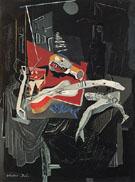 Still Life by Moonlight 1926 - Salvador Dali