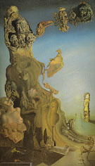 Imperial Monument to the Child Woman 1929 - Salvador Dali