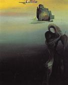 Gradiva Finds the Anthropomorphic Ruins 1931 - Salvador Dali
