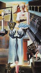 The Invisible Man 1929 - Salvador Dali