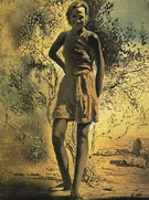 Portrait of Gala 1932 - Salvador Dali