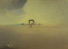 Phantom Wagon 1933 - Salvador Dali