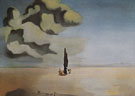 Apparation of my Cousin Carolinetta on the Beach at Rosas 1933 - Salvador Dali