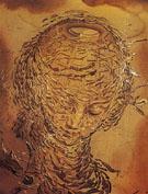 Raphaelesque Head Exploding 1951 - Salvador Dali