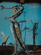 The Burning Giraffe 1936 - Salvador Dali