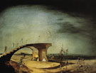 The Broken Bridge and the Dream 1945 - Salvador Dali