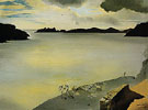Landscape of Port Lligat 1950 - Salvador Dali