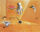 Feather Equilibrium 1947 - Salvador Dali
