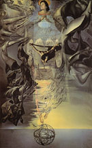 Christ of Saint John of the Cross 1951 - Salvador Dali