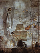 The Discovery of America by Christopher Columbus 1958 - Salvador Dali