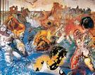 Tuna Fishing Homage to Meissonier 1966 - Salvador Dali