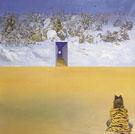 Battle in the Clouds 1974 - Salvador Dali
