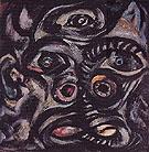 Head 1938 - Jackson Pollock