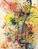 Burning Landscape 1943 - Jackson Pollock