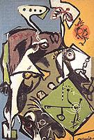 The White Angel 1946 - Jackson Pollock