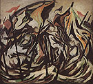 Composition with Figures and Banners 1934 - Jackson Pollock