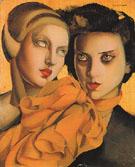 The Orange Scarf 1927 - Tamara de Lempicka