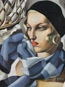 The Blue Scarf 1930 - Tamara de Lempicka