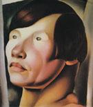 Tete de Femme Slave 1925 - Tamara de Lempicka
