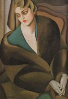 Portrait of Baroness Renata Treves 1925 - Tamara de Lempicka