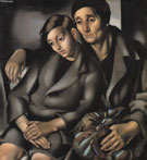 Mother and Child 1931 - Tamara de Lempicka