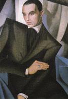 Portrait of Marquis Sommi 1925 - Tamara de Lempicka