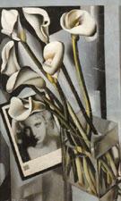 Arlette Boucard with Arums 1931 - Tamara de Lempicka