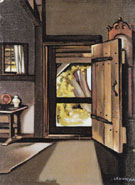 The Studio Door 1941 - Tamara de Lempicka