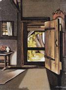 The Studio Door 1941 - Tamara de Lempicka