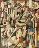 The Reader III Abstract 1956 - Tamara de Lempicka