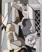 Woman and Child Abstract 1953 - Tamara de Lempicka