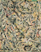 Eyes in the Heat 1946 - Jackson Pollock