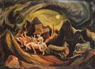 Going West 1934 - Jackson Pollock
