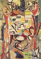 The Tea Cup 1946 - Jackson Pollock