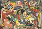 The Key 1946 - Jackson Pollock