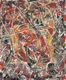 Croaking Movement 1946 - Jackson Pollock