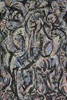 Gothic 1944 - Jackson Pollock